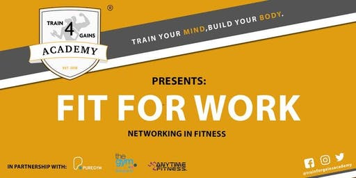 T4GA presents: Fit For Work