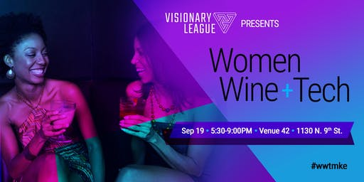 Women, Wine and Tech Event