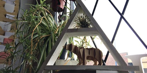 Triangle Shelf Workshop