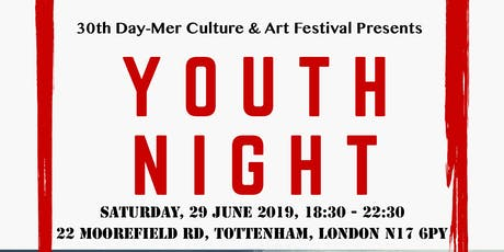 Day-Mer Youth Night - 30th Culture & Arts Festival tickets
