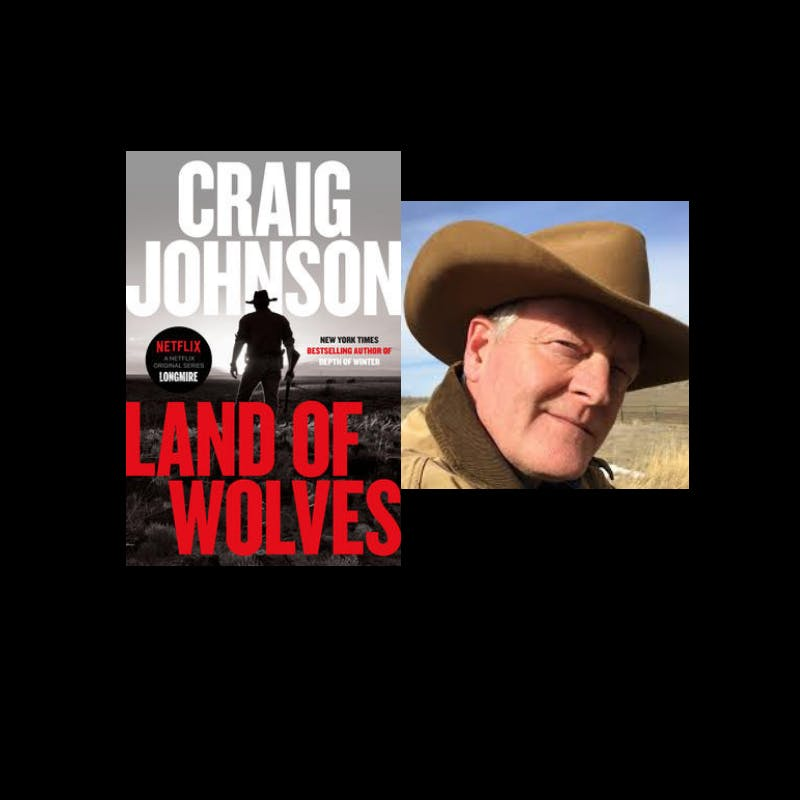 Craig Johnson LAND OF WOLVES Book Signing and Discussion