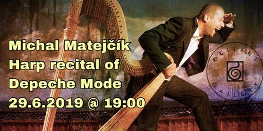 Michal Matejčík - Harp recital of Depeche Mode