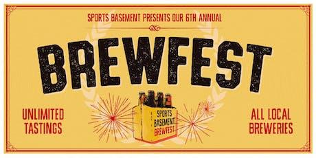 Sports Basement Campbell: BrewFest! tickets