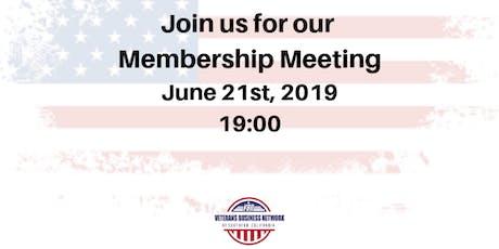 VBN's General Membership Meeting tickets