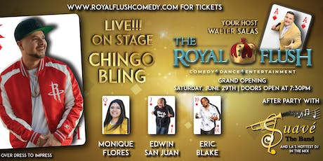 The Royal Flush Comedy, Dance & Entertainment Show starring Chingo Bling tickets