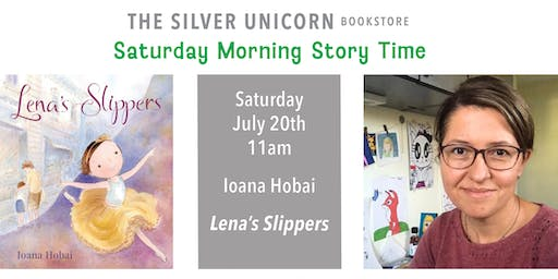 Saturday Morning Storytime: Ioana Hobai