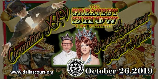 """Coronation 45   """"Greatest Show on Earth ~ A Night of Enchantment and Magical Mystere'"""""""