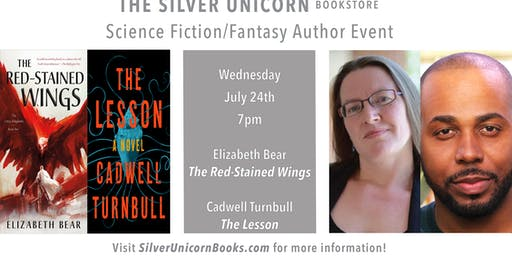 Sci-Fi/Fantasy Author Event: Elizabeth Bear and Cadwell Turnbull