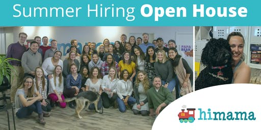 Summer Hiring Open House - Pet a Dog, Get a Job!