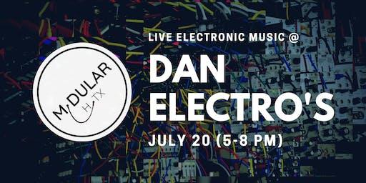 Modular Houston Live @ Dan Electro's (Free Electronic Music!)