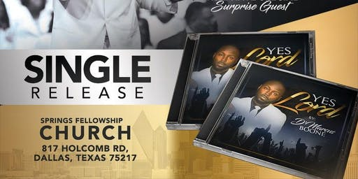 D'Marcus Boone Single Release Concert