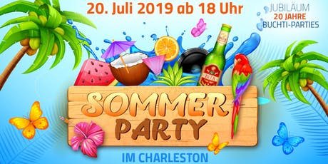 Sommerparty / 20 Jahre Buchti-Parties Tickets