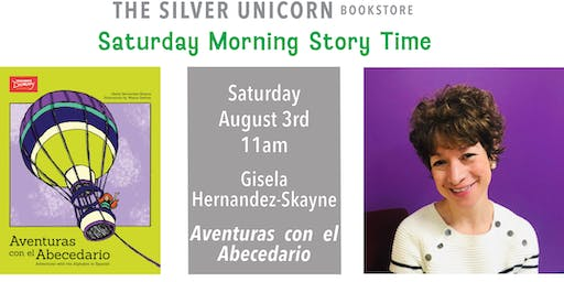 Saturday Morning Storytime: Gisela Hernandez-Skayne