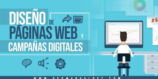 DISEÑO DE PÁGINAS WEB Y CAMPAÑAS DIGITALES