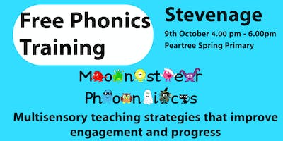 STEVENAGE PHONICS TRAINING at Peartree Spring Prim