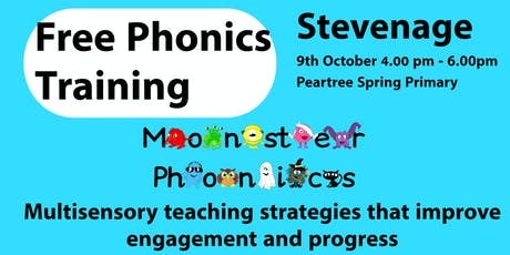 STEVENAGE PHONICS TRAINING at Peartree Spring Prim tickets