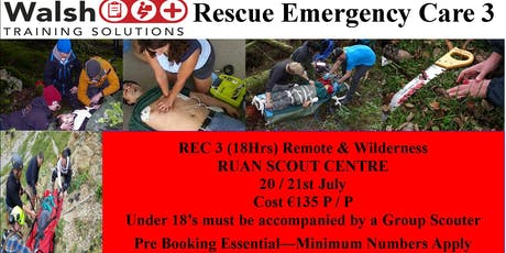 Rescue Emergency Care (REC)3 tickets