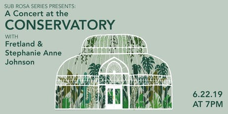 Greenhouse Gigs at Volunteer Park Conservatory tickets