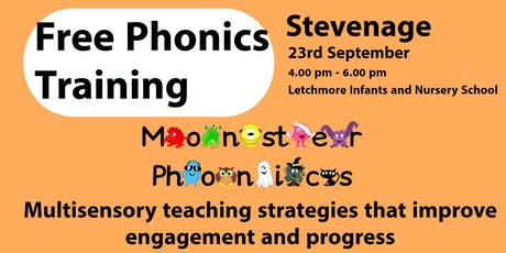 STEVENAGE PHONICS TRAINING at Letchmore Infant Sch tickets