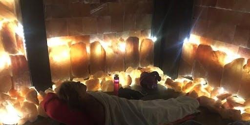 Himalayan Salt Cave Restorative Yoga