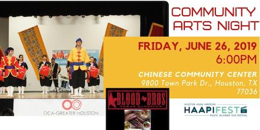HAAPIFEST 2019: Community Arts Night
