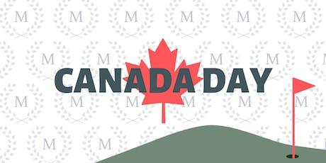 Canada Day Shotgun Golf Event tickets