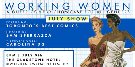 Working Women Comedy - July Show 2019 tickets