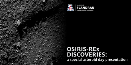 OSIRIS-REx Discoveries tickets