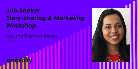 amplaffy 36: Job Seeker Story & Marketing Workshop  tickets