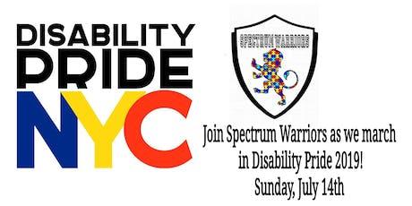 Disability Pride Parade 2019 tickets