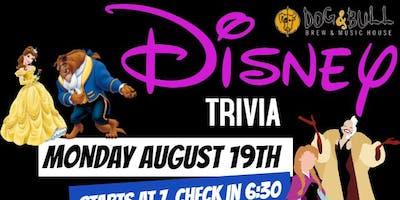 Disney Trivia #2 (Monday)