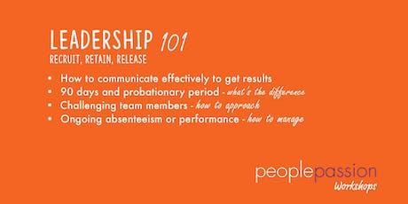 Leadership Workshop 101 tickets
