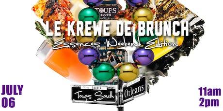 Le Krewe De Brunch- Essence Weekend Edition tickets