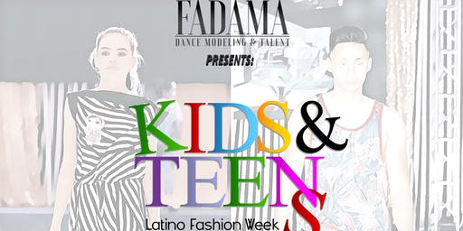 KIDS-TEENS FADAMA FASHION WEEK 2019