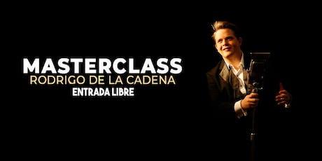 Master Class con El Maestro Rodrigo de la Cadena entradas