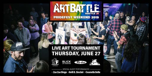 Art Battle Seattle: Pride Edition - June 27, 2019