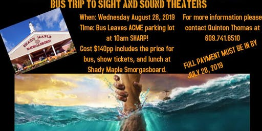 Bus Trip to Sight & Sound Theater