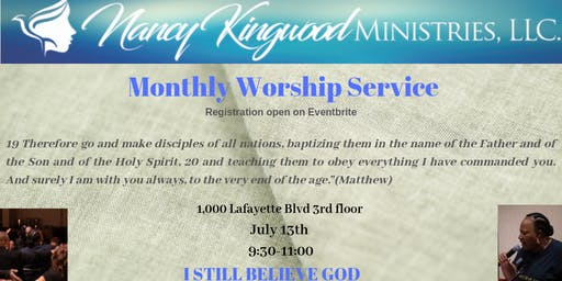 Monthly Worship Service