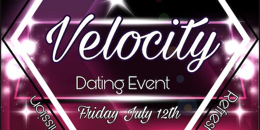 """""""LOVE AT FIRST SIT"""" Social Mixer Velocity Dating Event"""