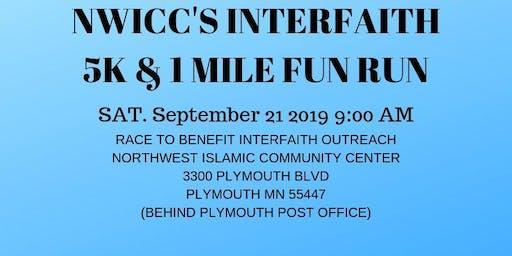 NWICC'S Interfaith 5K & 1 Mile Fun Run