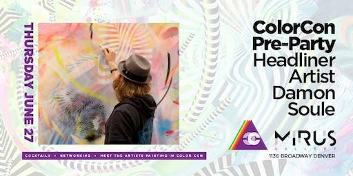 COLORCON Pre-Party Artist Networking feat. Damon Soule & More