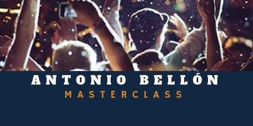 Masterclass | Antonio Bellón