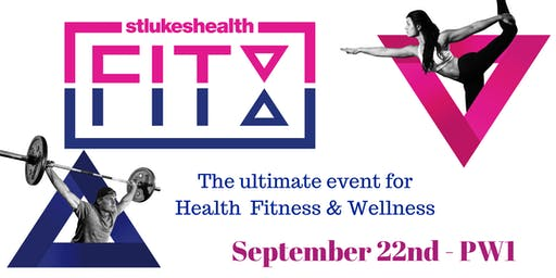 St.LukesHealth FitEx -Health & Fitness Expo (22nd September)