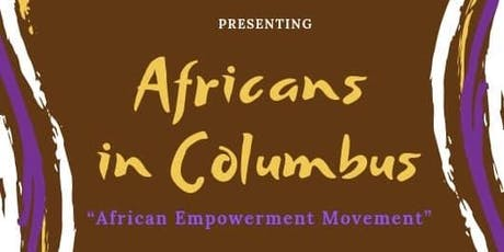 Africans in Columbus tickets