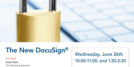 The NEW DocuSign tickets