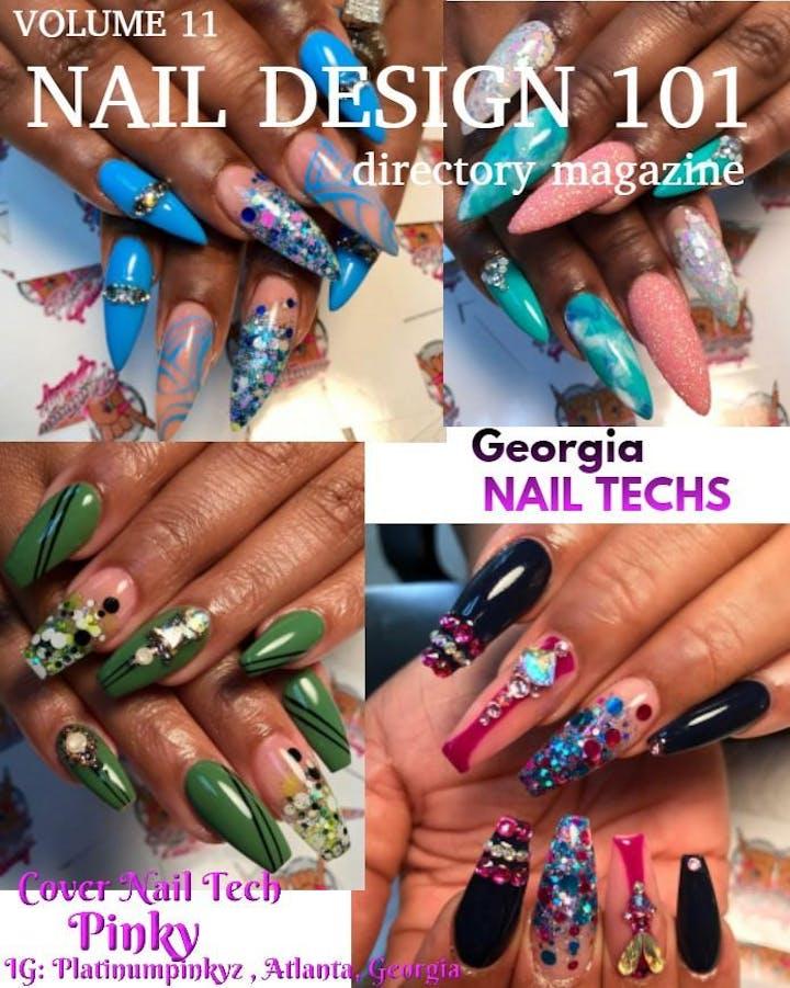 Nail Design 101 Magazine Release Atlanta Edition & Nail Battle ...