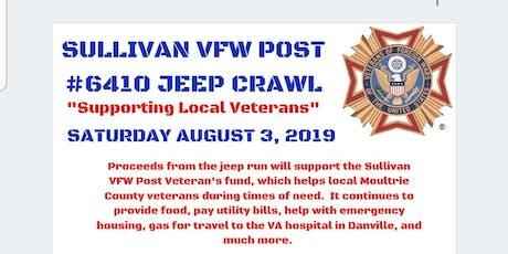 Sullivan VFW Post 6410 Jeep Crawl tickets