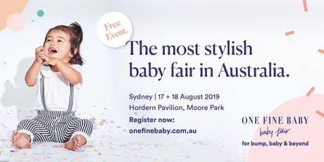 Australia's Most Stylish FREE Baby Fair SYDNEY 2019 tickets