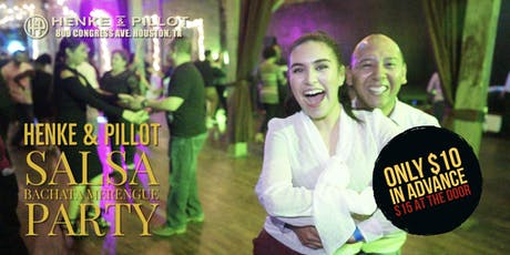 Salsa and Bachata Mixer at Henke & Pillot Downtown! tickets
