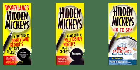 August TGV Author Aaron Wallace Steve Barrett Hidden Mickey tickets